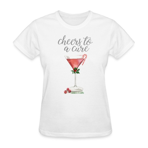 Cheers To A Cure: Crohn's & Colitis Tee - Women's T-Shirt
