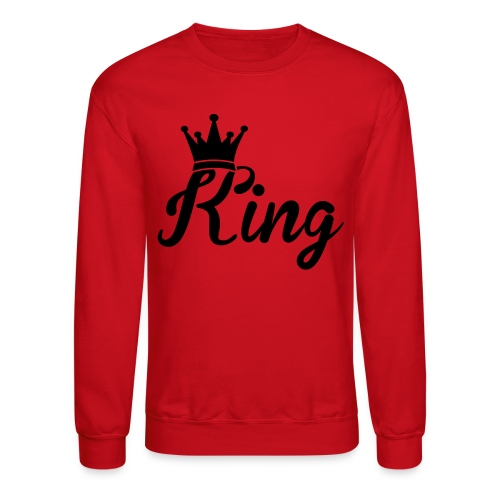 Its The King Crew Neck - Crewneck Sweatshirt
