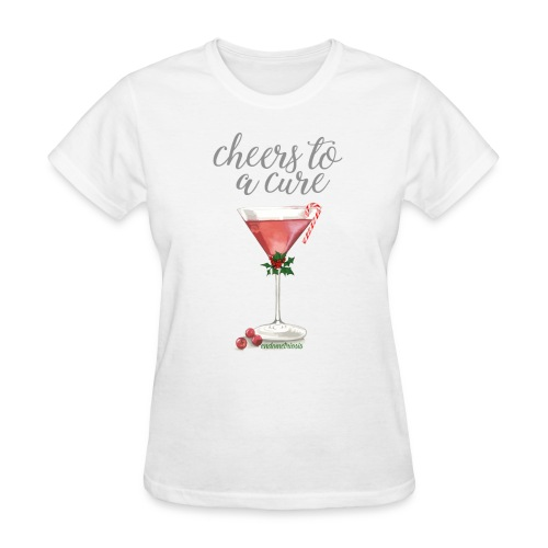 Cheers To A Cure: Endometriosis Tee - Women's T-Shirt