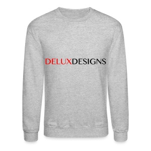 Men's Delux Designs Crewneck - Crewneck Sweatshirt