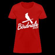 Women's T-Shirts ~ Women's T-Shirt ~ Birdnals 12 in 12 Shirt Women Red