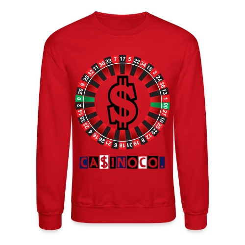 Red Casino Co. Crewneck - Crewneck Sweatshirt