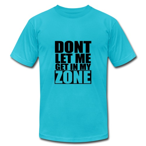 dont let me get in my zone - jay z - Men's Fine Jersey T-Shirt