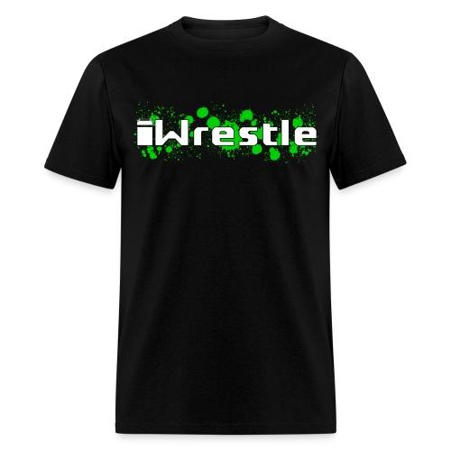 iWrestle Splatter Shirt - Men's T-Shirt