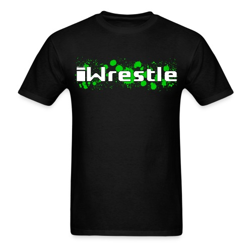 iWrestle Splatter Shirt - Men's T-Shirt