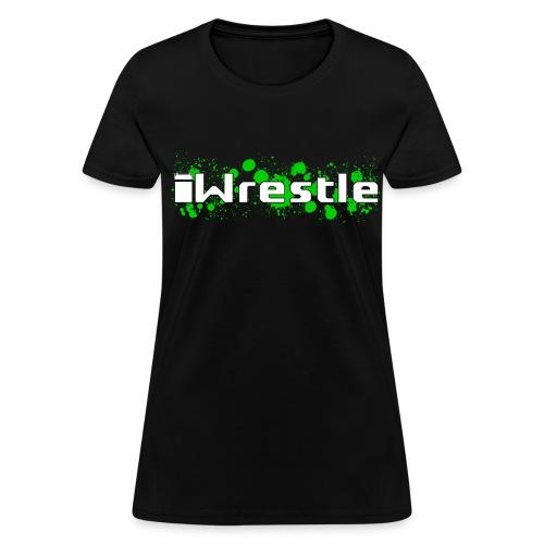 iWrestle Splatter Shirt W - Women's T-Shirt