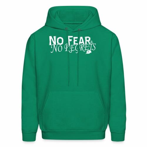 No Fear and No Regrets Hoodie - Men's Hoodie