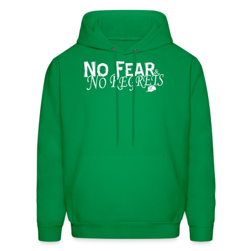 No Fear and No Regrets Hoodie - Men's Hoodie