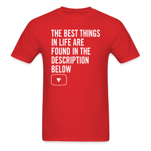 YouTube Best Things in Life Men's T-Shirt - Men's T-Shirt
