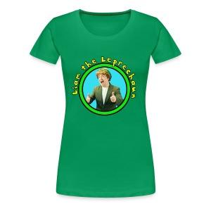 Liam the Leprechaun - Women's Tee - Women's Premium T-Shirt