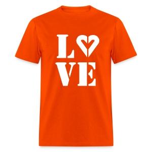 Men's Love Lgt Ink Tee - Men's T-Shirt