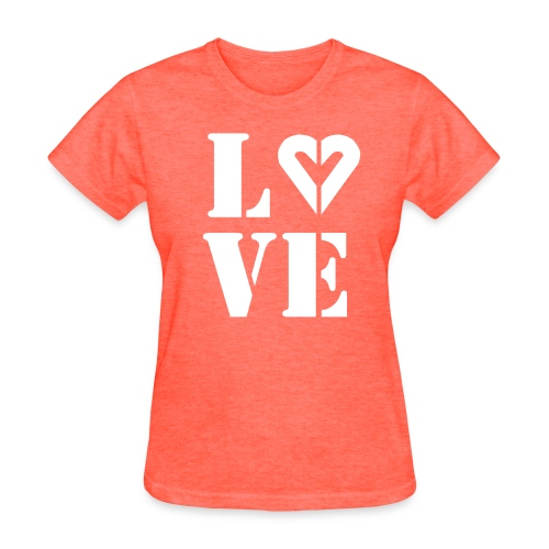Woman's Love Lgt  Ink Classic Tee - Women's T-Shirt