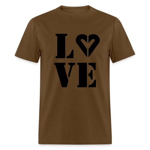 Men's Love Drk Ink Tee - Men's T-Shirt