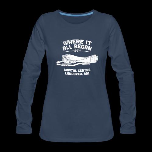 Where It All Began Women's Long Sleeve - Women's Premium Long Sleeve T-Shirt