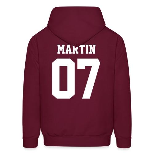 MARTIN 07 - Hoodie (XL Logo, NBL) - Men's Hoodie