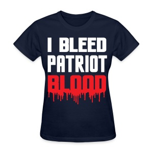 I Bleed Patriot Blood