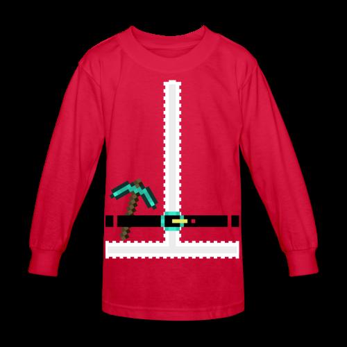 Santa Claus Suit Kids - Kids' Long Sleeve T-Shirt