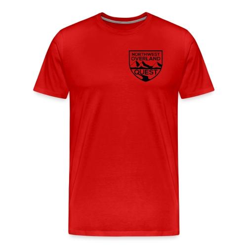 NWOQ Black Logo - Men's Premium T-Shirt