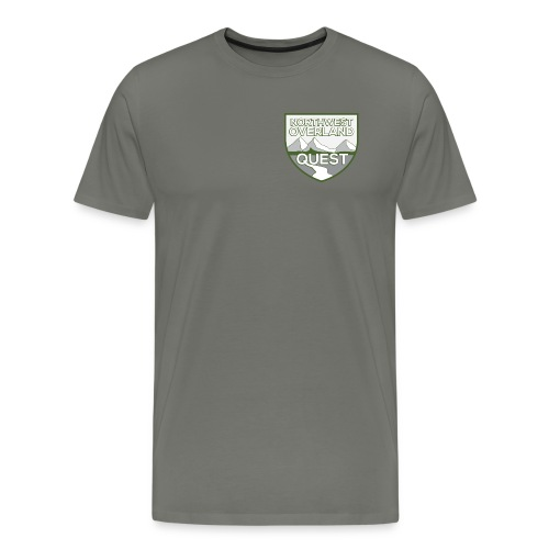 NWOQ Color Logo - Men's Premium T-Shirt