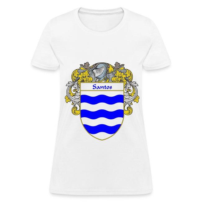 2c6c68fe3 415197 | Santos Coat of ArmsFamily Crest - Womens T-Shirt