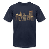 T-Shirts ~ Men's T-Shirt by American Apparel ~ I Love This City