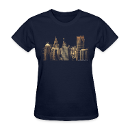 Women's T-Shirts ~ Women's T-Shirt ~ I Love This City