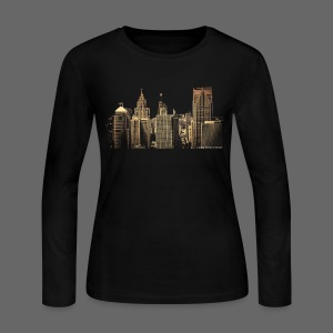 I Love This City - Women's Long Sleeve Jersey T-Shirt