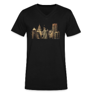 T-Shirts ~ Men's V-Neck T-Shirt by Canvas ~ I Love This City