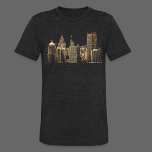 I Love This City - Unisex Tri-Blend T-Shirt by American Apparel