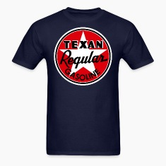 Texan Gasoline T-Shirts