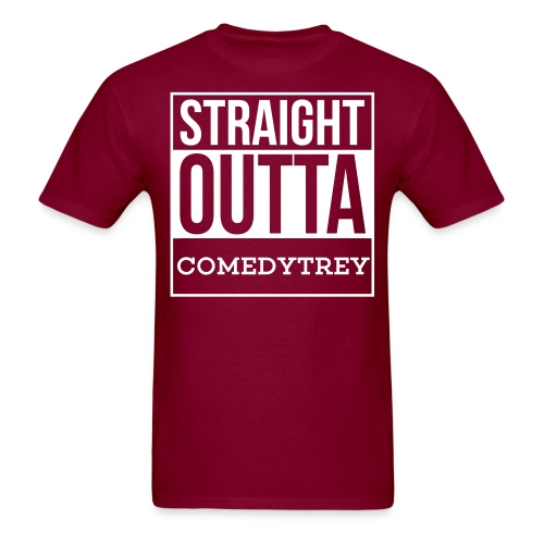 Straight Outta Comedy Trey  - Men's T-Shirt