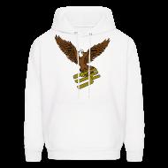 Hoodies ~ Men's Hoodie ~ SoaRing in Style Eagle Hoodie
