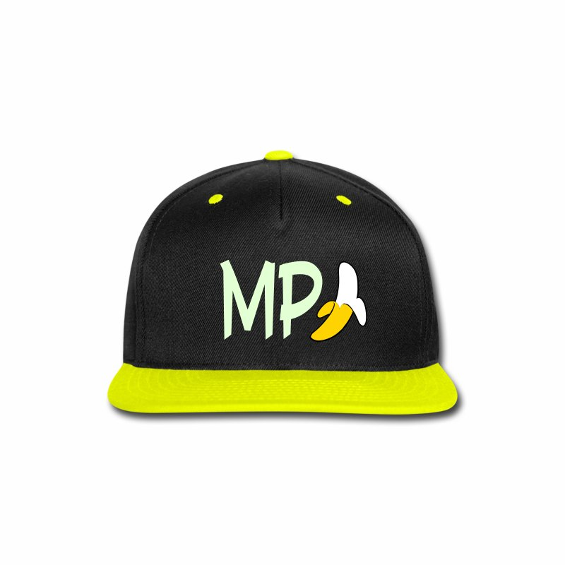 Monkey Pickles MP Banana Glow-in-the-dark Hat - Snap-back Baseball Cap