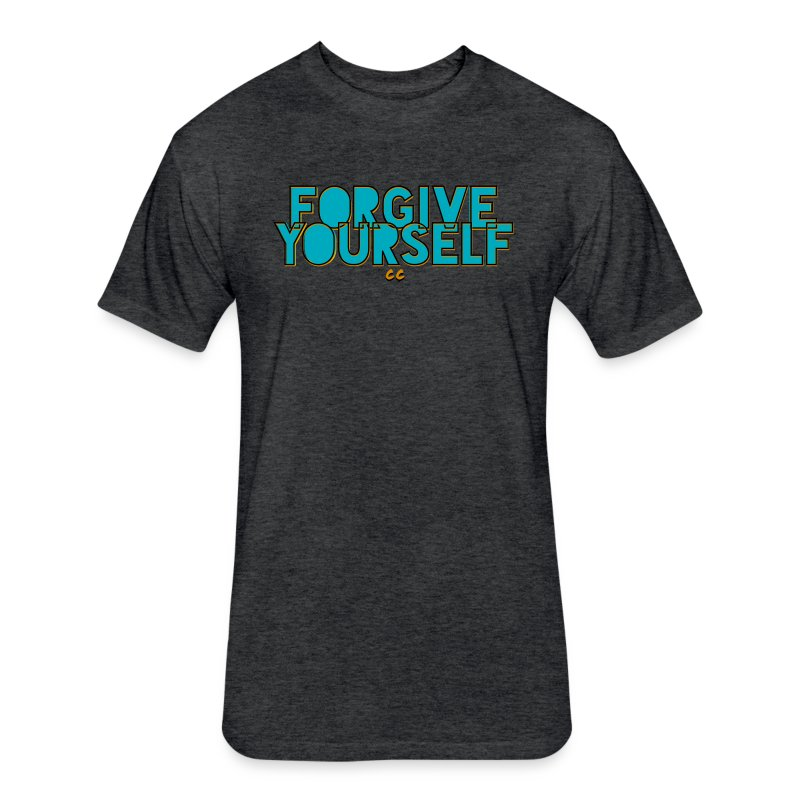 FORGIVE YOURSELF - Fitted Cotton/Poly T-Shirt by Next Level