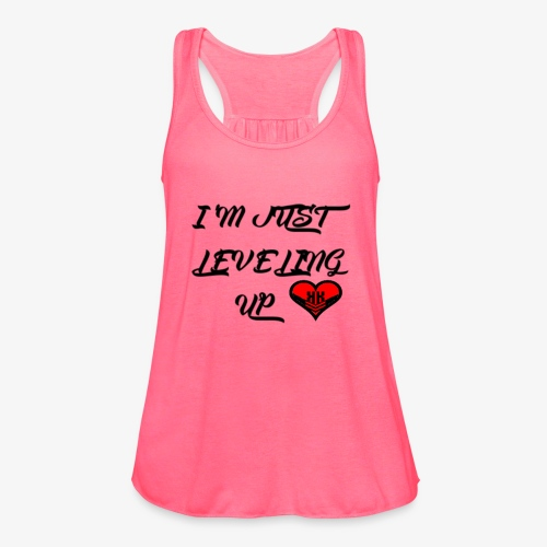 Level up Tank  - Women's Flowy Tank Top by Bella
