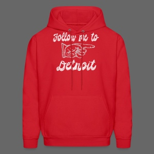 Follow Me To Detroit - Men's Hoodie