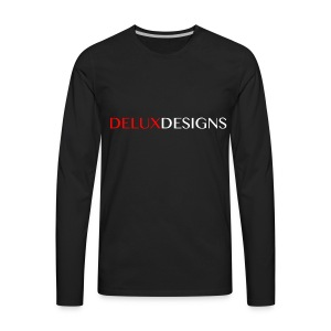 Men's Delux Designs Long Sleeved Shirt - Men's Premium Long Sleeve T-Shirt
