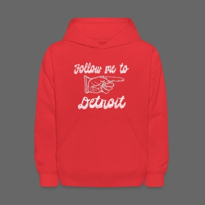 Follow Me To Detroit - Kids' Hoodie