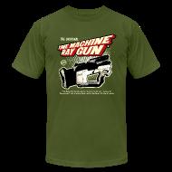 T-Shirts ~ Men's T-Shirt by American Apparel ~ Time Machine Ray Gun AA