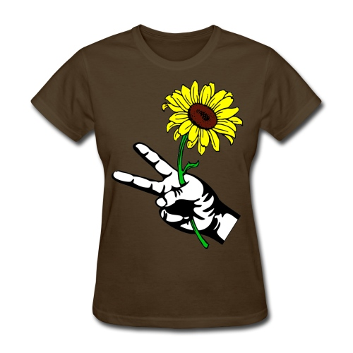 SUNFLOWER PEACE - Women's T-Shirt