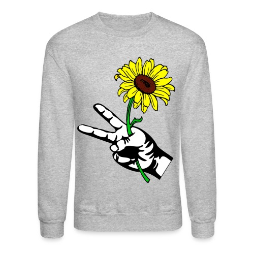 SUNFLOWER PEACE - Crewneck Sweatshirt