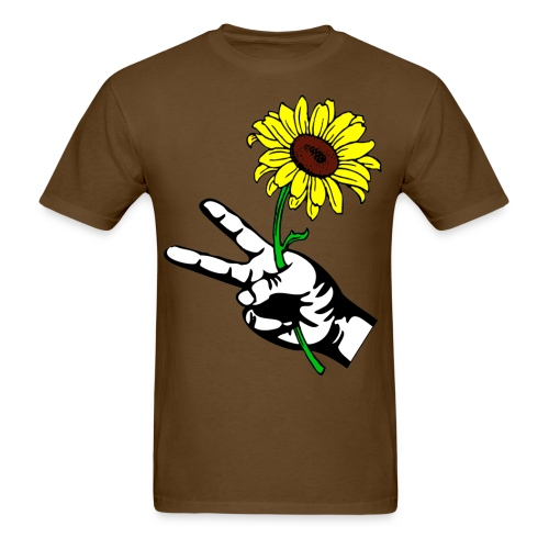 SUNFLOWER PEACE - Men's T-Shirt