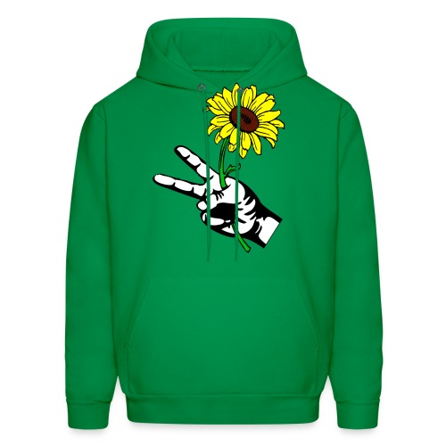 SUNFLOWER PEACE - Men's Hoodie