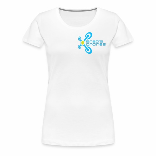 Women's T-shirt with Logo and Not Spying on Back - Women's Premium T-Shirt