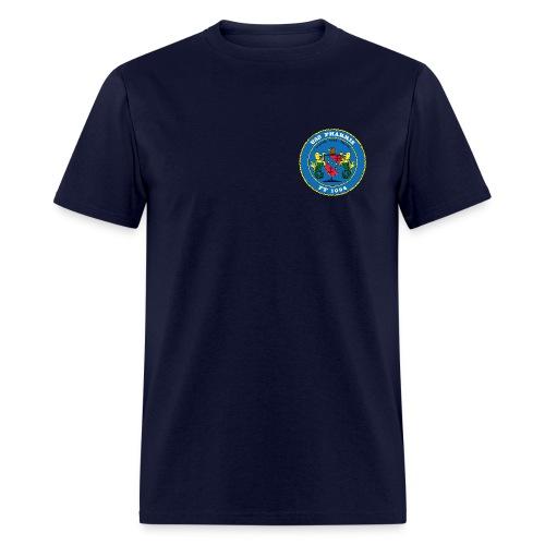 USS PHARRIS FF-1094 TEE - Men's T-Shirt