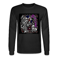 Long Sleeve Shirts ~ Men's Long Sleeve T-Shirt ~ Skitzo the Clown (Mens Long Sleeve)