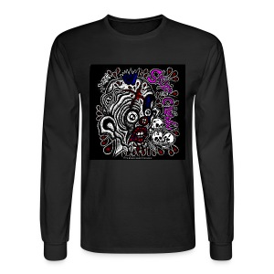 Skitzo the Clown (Mens Long Sleeve) - Men's Long Sleeve T-Shirt