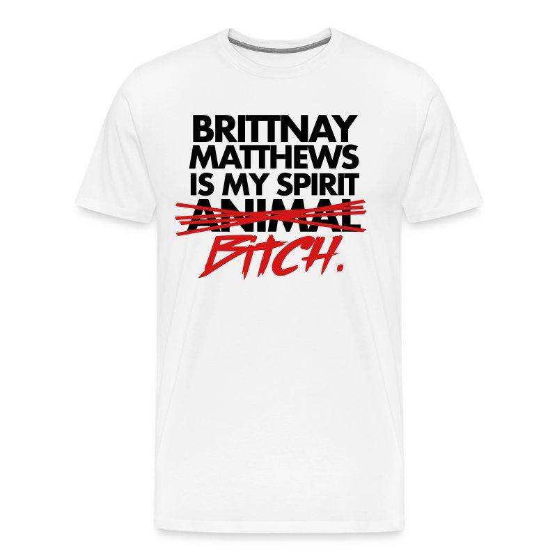 Spirit Bitch Men's Shirt - Men's Premium T-Shirt