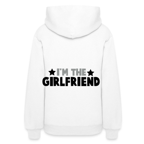 I'm the girlfriend - Women's Hoodie