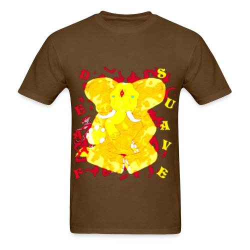 Golden Elephant  - Men's T-Shirt